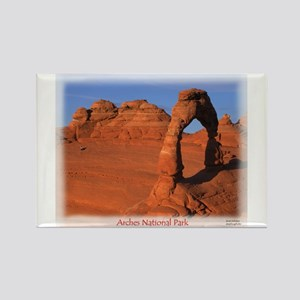 Delicate Arch Rectangle Magnet