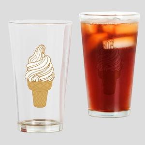 Soft Serve Ice Cream Cone Drinking Glass