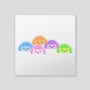 "The Whole Prickle Square Sticker 3"" x 3"""