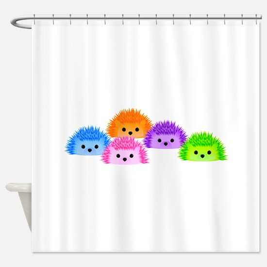 The Whole Prickle Shower Curtain