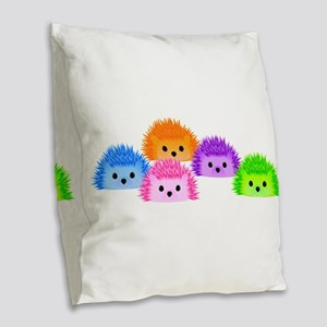 The Whole Prickle Burlap Throw Pillow