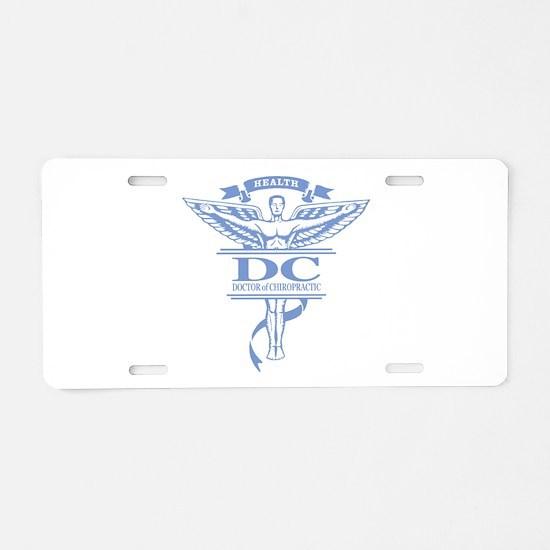 Chiropractic Aluminum License Plate