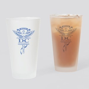 Chiropractic Drinking Glass