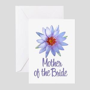 Lotus Bride's Grandma Greeting Cards (Pk of 10)