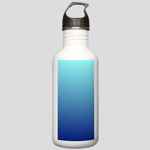 aqua blue ombre Stainless Water Bottle 1.0L