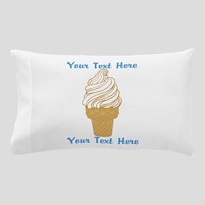 Personalized Ice Cream Cone Pillow Case