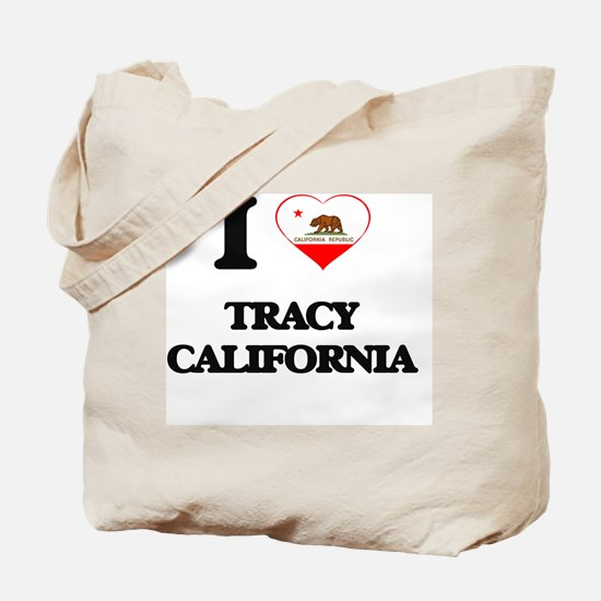 I love Tracy California Tote Bag