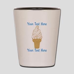 Personalized Ice Cream Cone Shot Glass