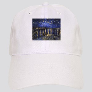 Van Gogh Starry Night Over The Rhone Cap