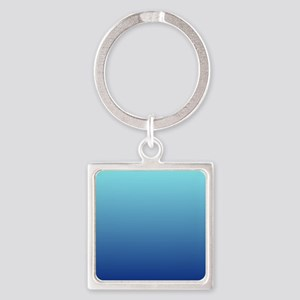 aqua blue ombre Keychains