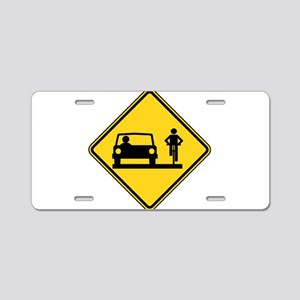 Share the Road Aluminum License Plate