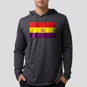 Flag of the Second Spanish Rep Long Sleeve T-Shirt