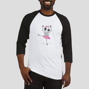 Skeleton Ballerina Baseball Jersey