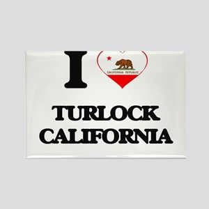 I love Turlock California Magnets