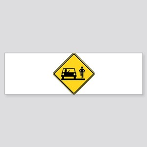 Road Rage Sticker (Bumper)