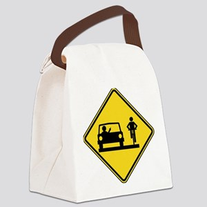 Road Rage Canvas Lunch Bag