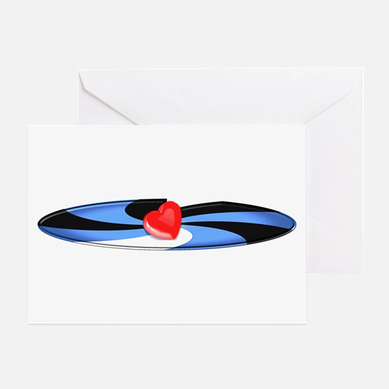 LEATHER PRIDE TWIST/TOP Greeting Card