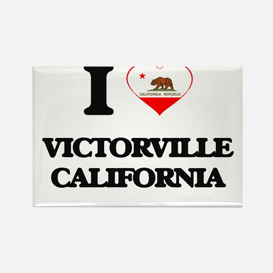 I love Victorville California Magnets