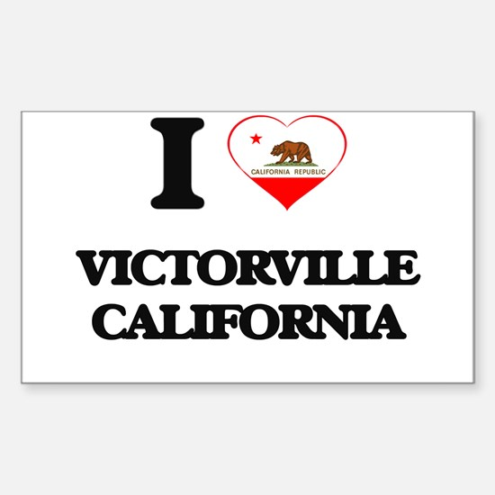 I love Victorville California Decal