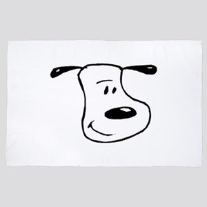 Snoopy 4' x 6' Rug
