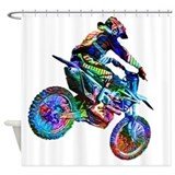 Motorcycle Shower Curtains