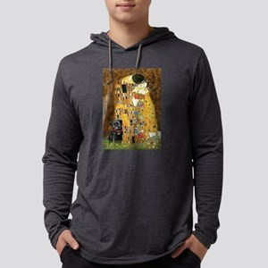 The Kiss / Black Pug Long Sleeve T-Shirt