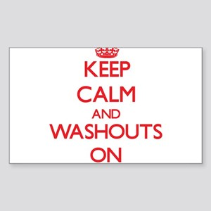 Keep Calm and Washouts ON Sticker