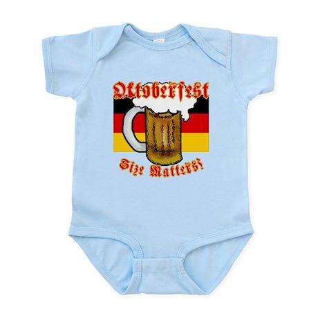 Oktoberfest Size Matters! Infant Bodysuit