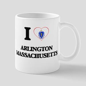 I love Arlington Massachusetts Mugs