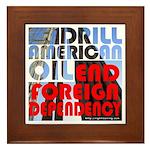 American Oil Framed Tile