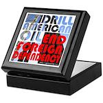 American Oil Keepsake Box