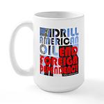 American Oil Large Mug