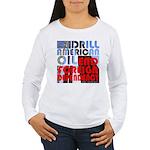 American Oil Women's Long Sleeve T-Shirt