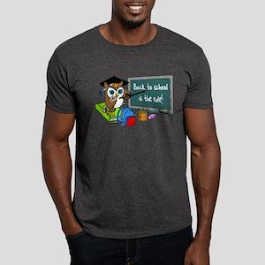 Back to School Owl Dark T-Shirt