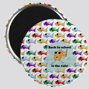 Back to School Fish Magnet