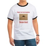 Donate Blood Mosquito Ringer T
