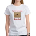 Donate Blood Mosquito Women's T-Shirt