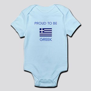 Proud to be Greek Body Suit