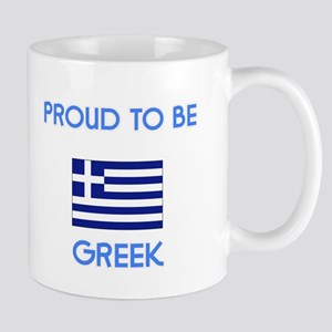 Proud to be Greek Mugs