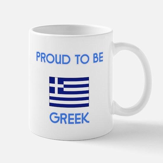 Proud to be Greek Mugs