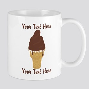 PERSONALIZED Chocolate Dip Ice Cream Co Mug