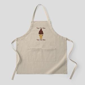 PERSONALIZED Chocolate Dip Ice Cream Cone Apron