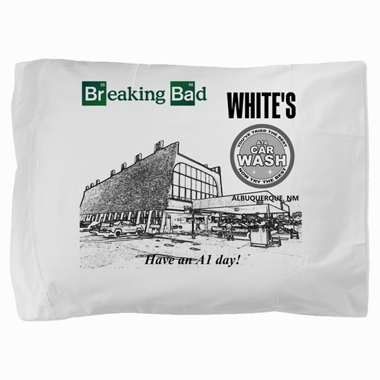 Breaking Bad Car Wash Pillow Sham