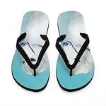 Borzoi Flip Flops