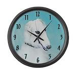 Borzoi Large Wall Clock