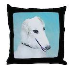 Borzoi Throw Pillow