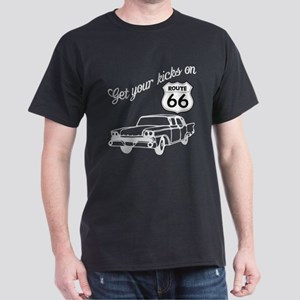 Get your kicks on Route 66 Dark T-Shirt