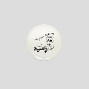 Get your kicks on Route 66 Mini Button