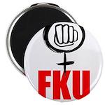 """FKU Magnet 2.25"""" (10 pack)"""