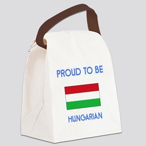 Proud to be Hungarian Canvas Lunch Bag